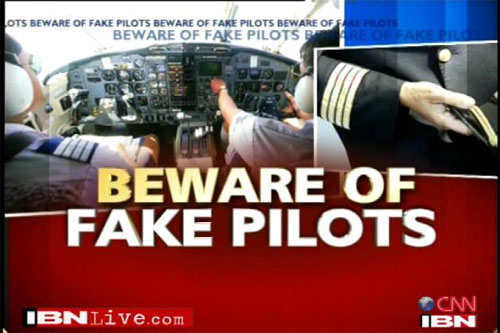 "Pilot India pakai lesen ""beli"" ?... Hoho..."