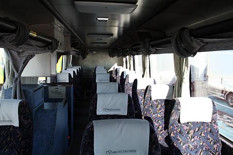 名鉄バス「名古屋~高松線」 2607 車内