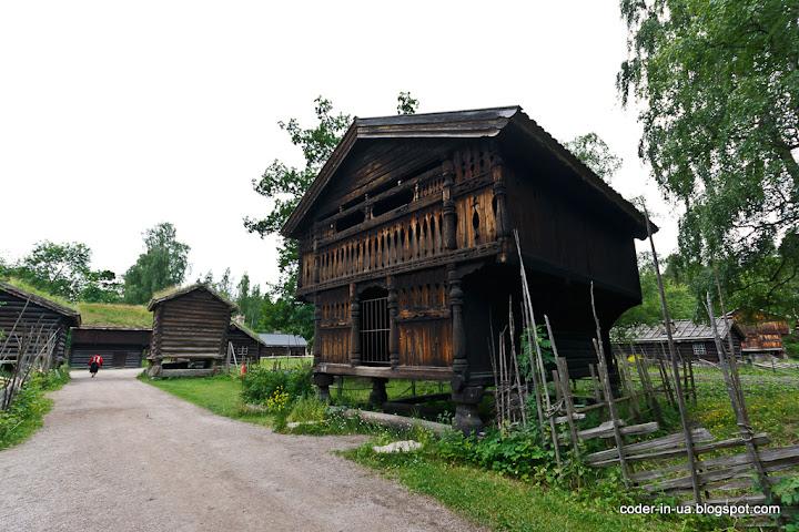 осло.музей народного быта.норвегия