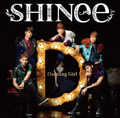 shinee - dazzling girl 2012, Art-cover
