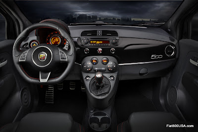 US Fiat 500 Abarth Dashboard