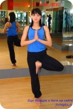 Позы йоги для начинающих