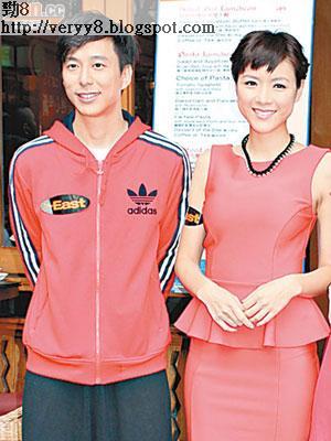 鄧健泓昨與陳茵媺出席活動,茵媺說情人節會抽時間陪男友陳豪。