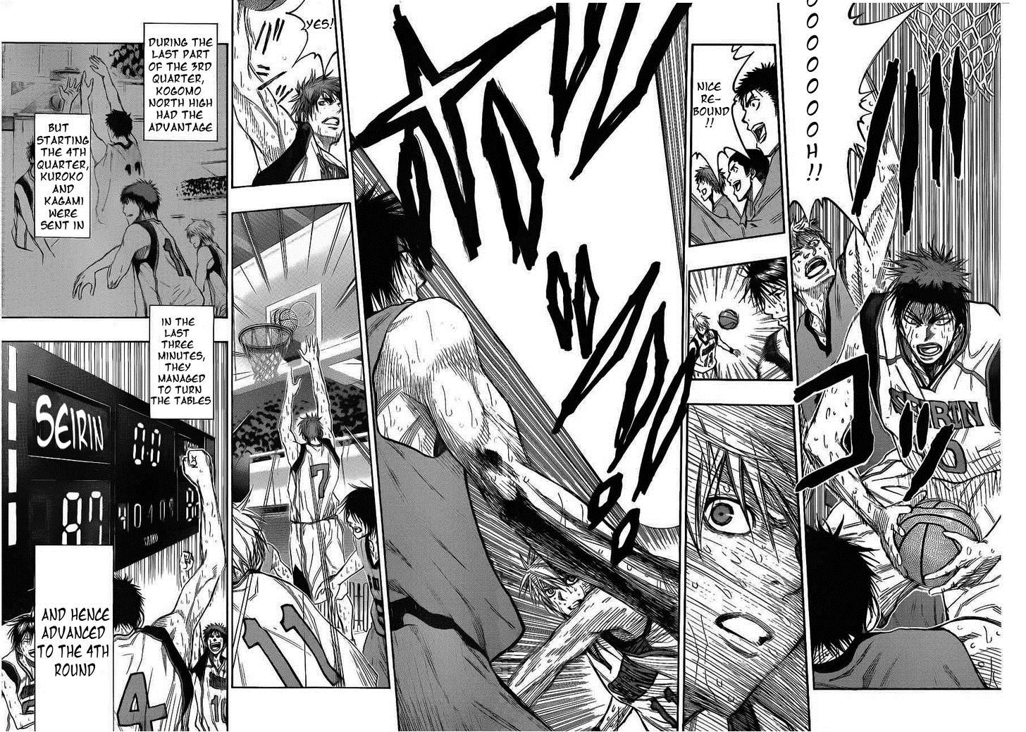 Kuroko no Basket Manga Chapter 144 - Image 06-07