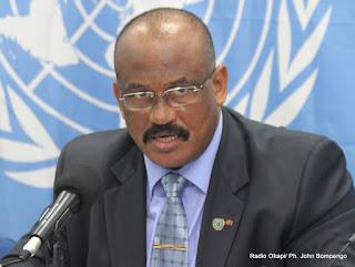 Le général Abdallah Wafi, Représentant spécial adjoint du secrétaire général de l'ONU chargé de l'Est de la RDC. Radio Okapi/ Ph. John Bompengo