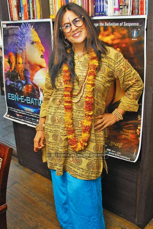 Reema Motwani poses during the party, in Jaipur.