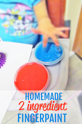 Homemade Finger Paint by Mommy Mentionables