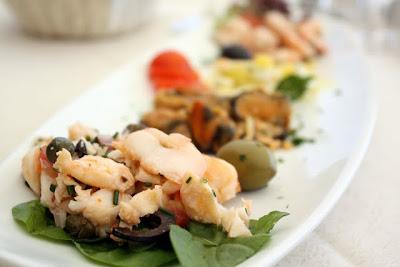 Starter at Restaurant Nautika in Dubrovnik