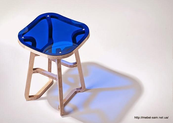 Фанерный стул Woodini