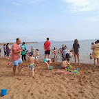 Un día de playa con Infantil, 1º, 2º y 3º