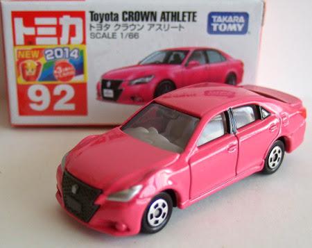 Hộp sản phẩm Tomica 092 Toyota Crown Athlete