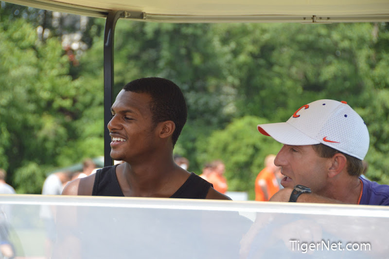 2013 Dabo Camp - Final Photos Photos - 2013, Dabo Swinney Camp, Deshaun Watson, Football