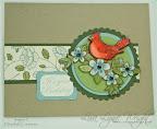 Spring Cardinal Birthday