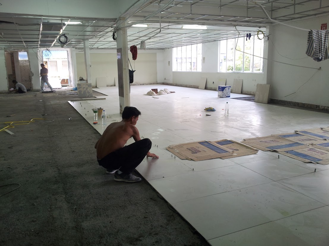 new tiling