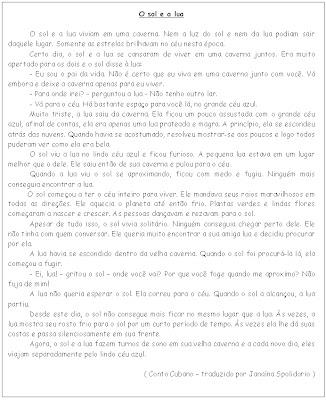 105 Textos e interpretação educaçao para crianças imprimir