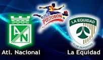 Nacional Equidad online vivo 9 Dic Cuadrangulares HORARIOS