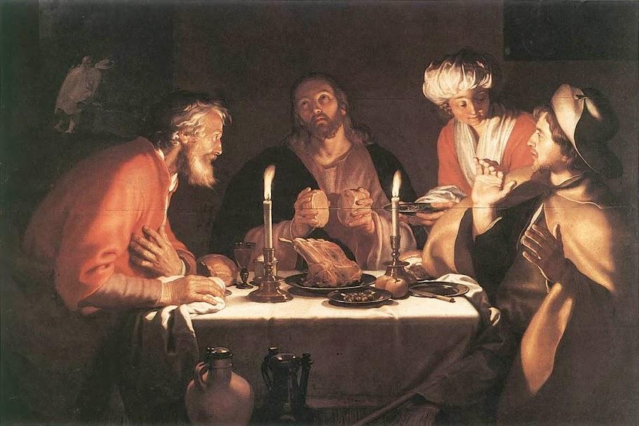 Abraham Bloemaert - The Emmaus Disciples
