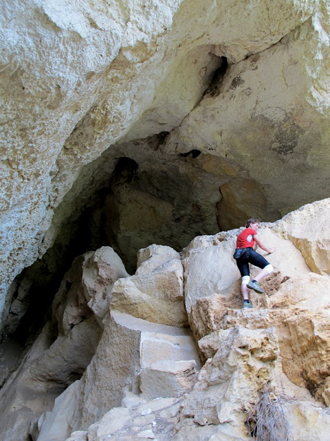 in canionul din Rusenski Lom, Basarbovo