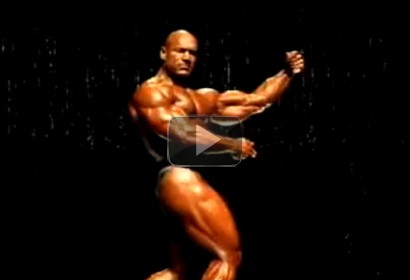 Rusty Jeffers - 2007 Ironman Pro, Posing Routine
