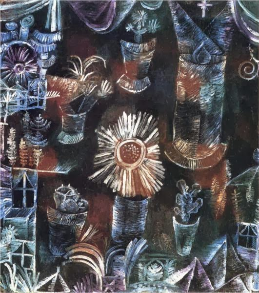 Paul Klee - Still Life with Thistle Bloom, 1919