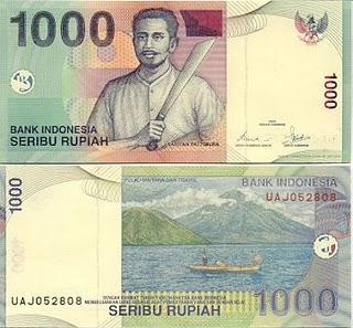 Hilang Rp 1000