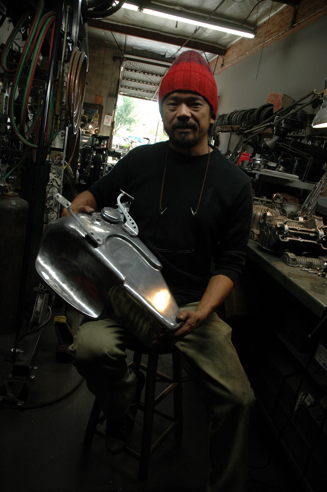 Bikewriter com  Art and the Zen of motorcycle making   an