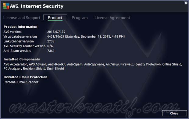 AVG Internet Security 2016 Full Version till 2018 | MASTERkreatif
