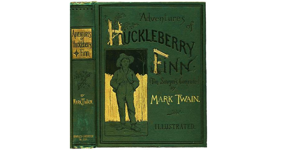 Reading The Adventures of Huckleberry Finn by Mark Twain