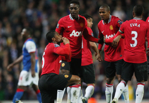 Antonio Valencia, Blackburn - Manchester United