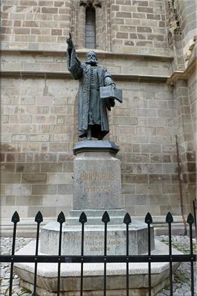Estatua de Johannes Honterus - Braşov