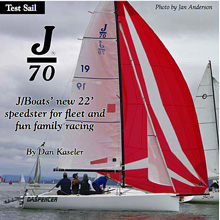J/70 sailing Seattle, Washington on Puget Sound