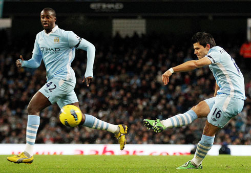 Sergio Aguero, Manchester City - Liverpool