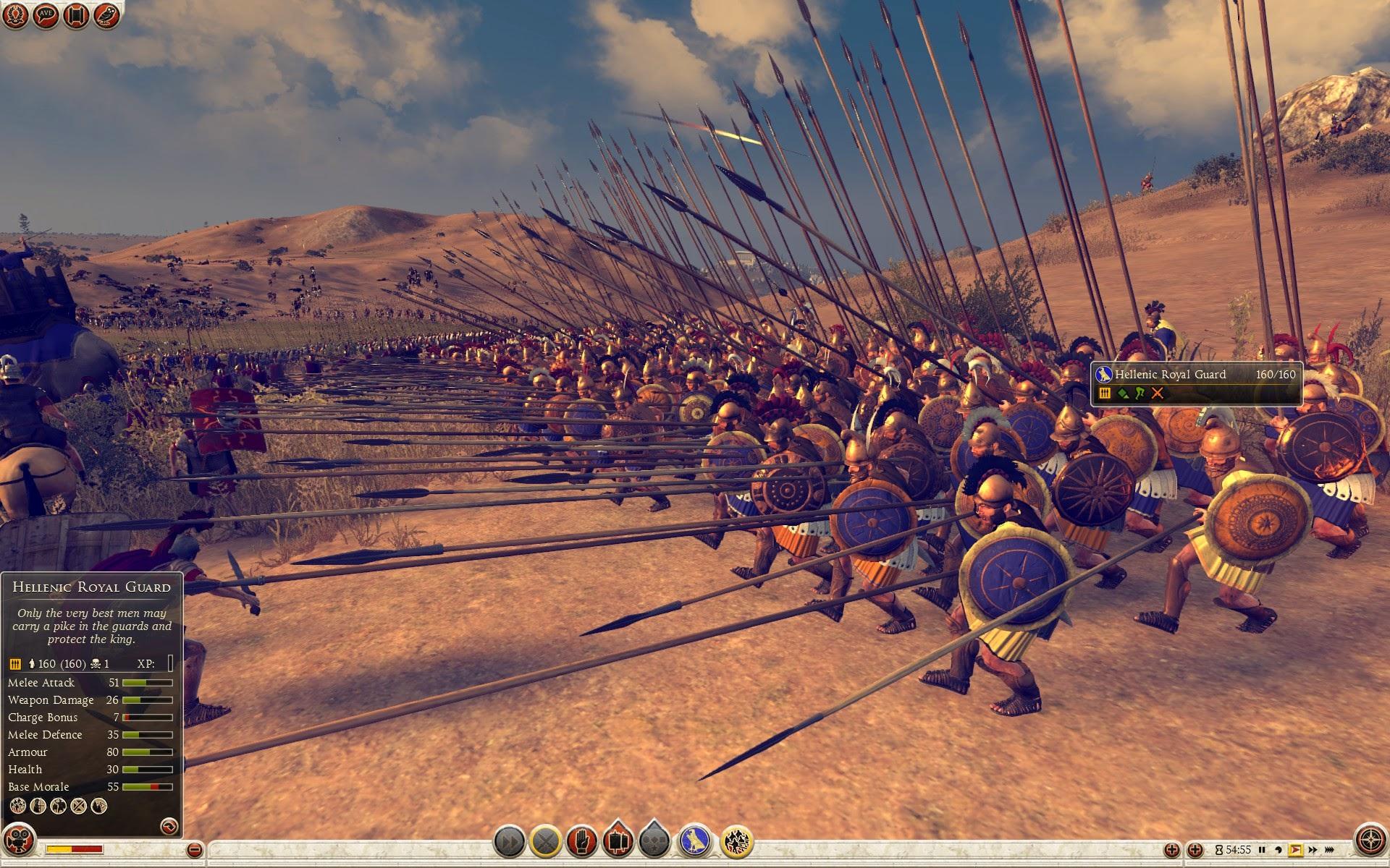 Hellenic Royal Guard - Epirus - Total War: Rome II - Royal Military