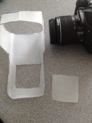 Know How Guide: How To: DIY DSLR Pop Up Flash Diffuser