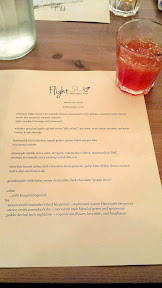 Flight Dessert Bar-  Midwestern Roots started off with tyler mackie's brandy old fashioned
