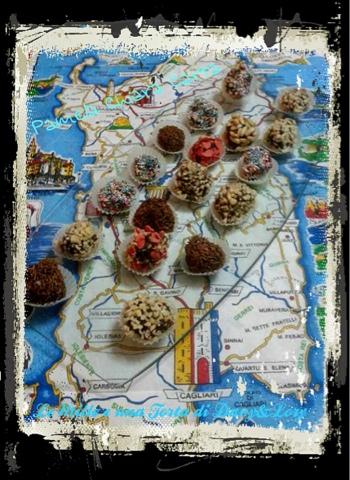 palline al cioccolato fondente e philadelphia