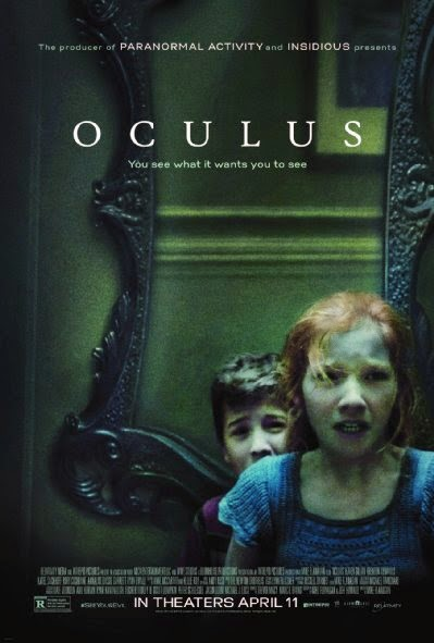 Poster Of English Movie Oculus (2013) Free Download Full New Hollywood Movie Watch Online At Alldownloads4u.Com