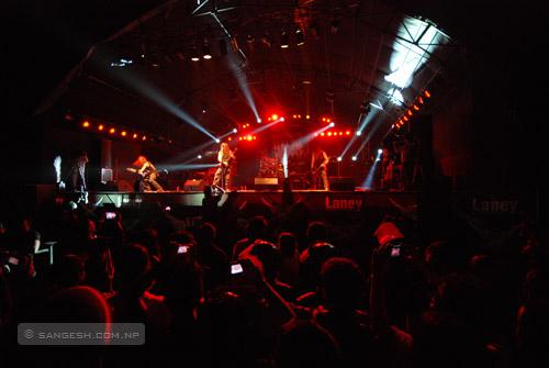 """Death Metal Band """"Vedar"""" in Kathmandu"""