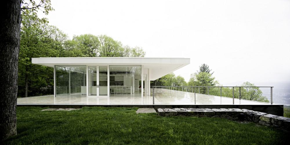 White Minimal Dream House Modern Design By Moderndesign Org