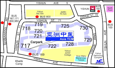 Asia TCM 亚洲中医 Map