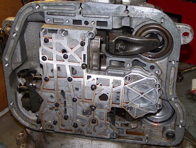 727 reverse manual valve body