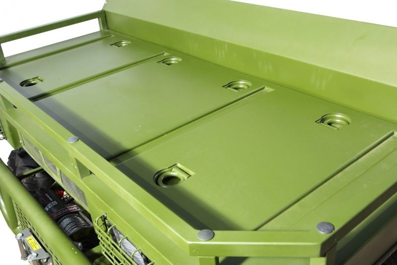 500cc Agmax Military Farm UTV Green with front tray