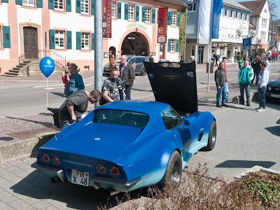 Ein Blickfang bei der Autoschau war diese Corvette Stingray