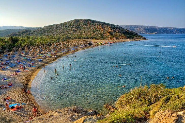 Vai Beach Crete (15 Best Greek Beaches).