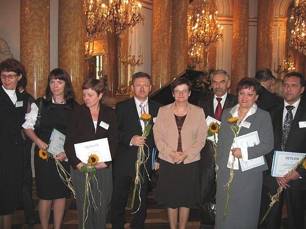Nagroda - innowacyjny Nauczyciel Roku 2008 - Zamek Królewski - Warszawa