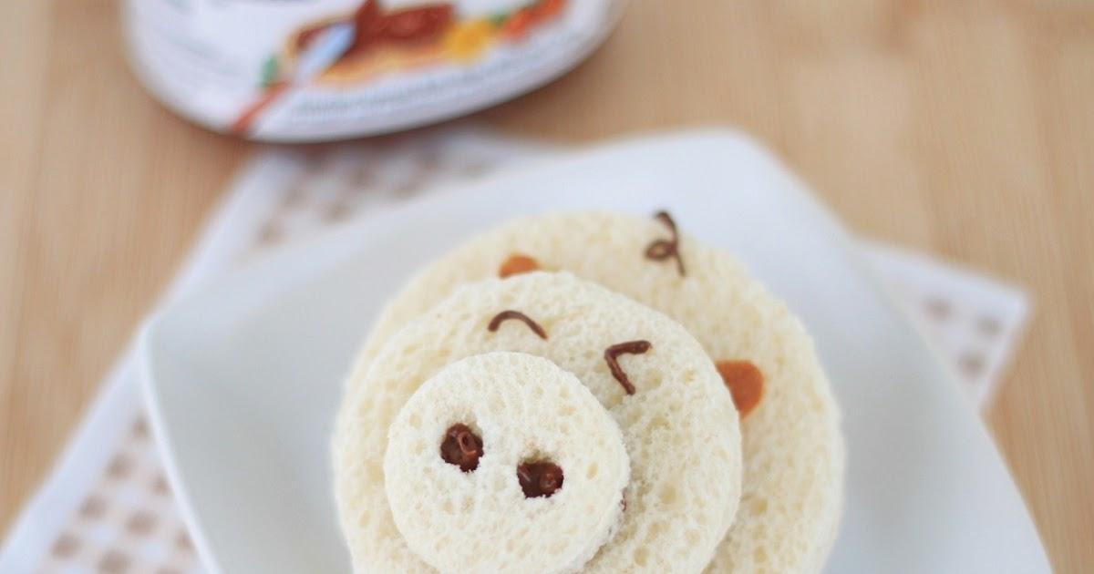 Piggy Nutella Sandwich: Yummy!