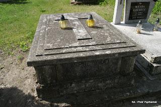 grób Kaweckich dawniej...