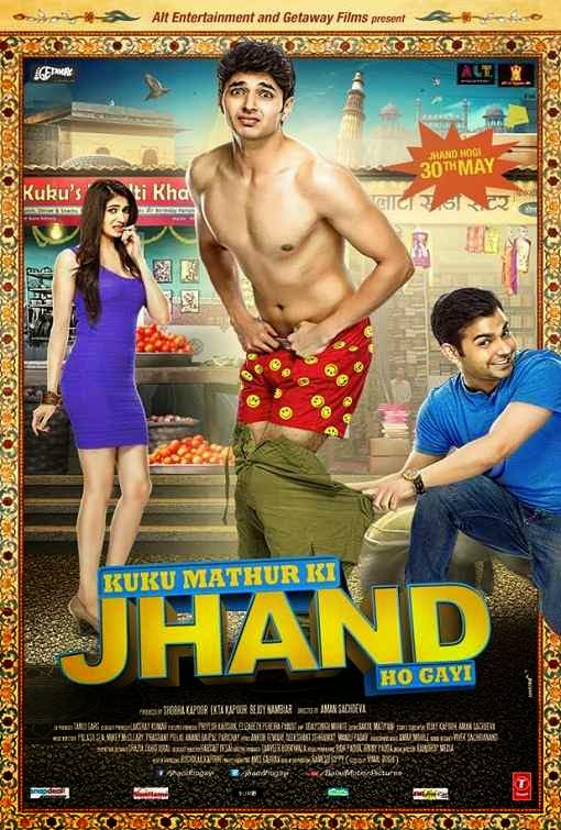 Poster Of Hindi Movie Kuku Mathur Ki Jhand Ho Gayi (2014) Free Download Full New Hindi Movie Watch Online At Alldownloads4u.Com