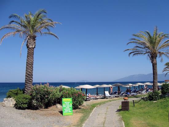 plaża hotelowa grecotel kos imperial