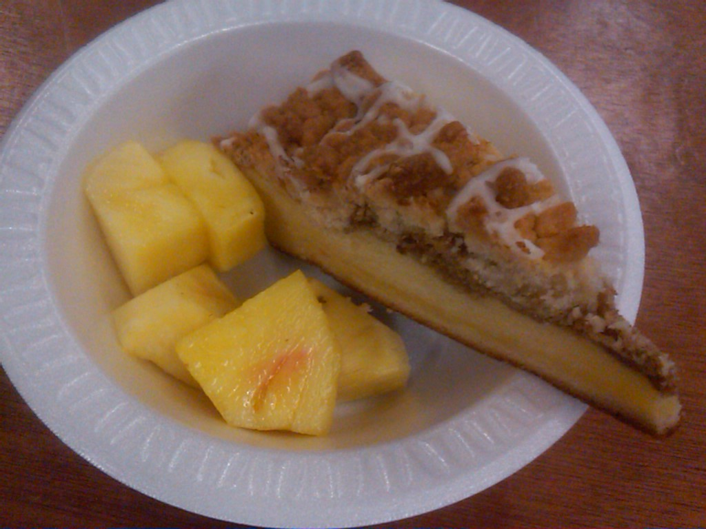 Pineapple Pound Cake Made From Scratch